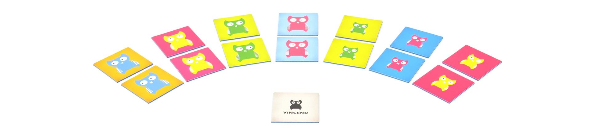 Vincend Memo Spiel online kaufen bei Vincend der Marke für Kinderspielzeug aus Dresden